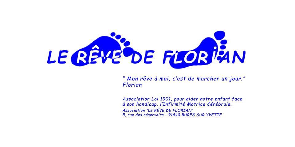 Don à l'association LE RÊVE DE FLORIAN le 17 avril 2016 : 100 euros
