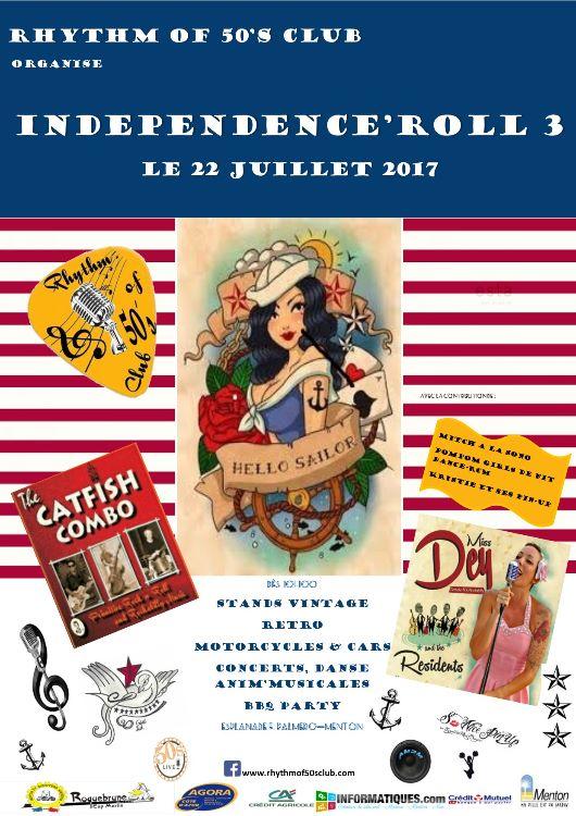 INDEPENDANCE'ROLL le 22 juillet 2017