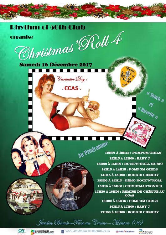 Christmas'Roll 4 le 16 décembre 2017